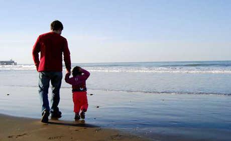 дитина і батько