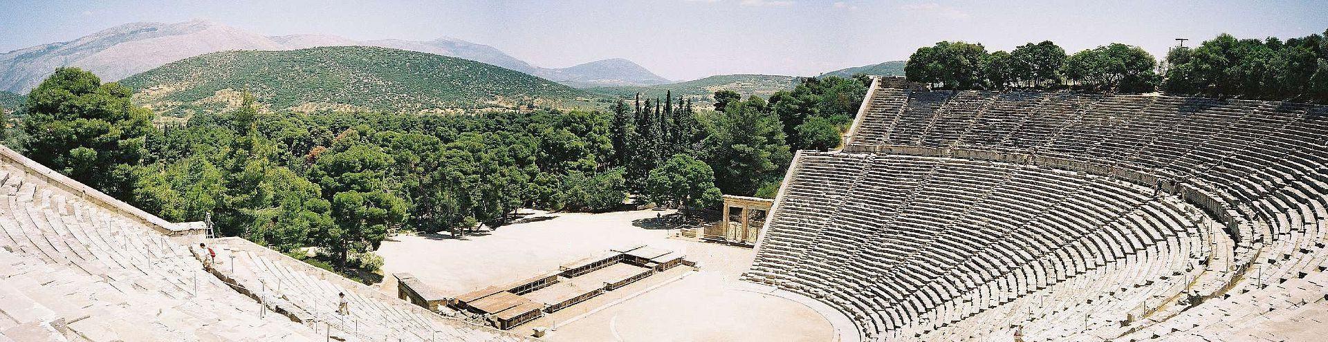 *** Стилі театрального мистецтва | Ancient greek theatre Epidaurus ***