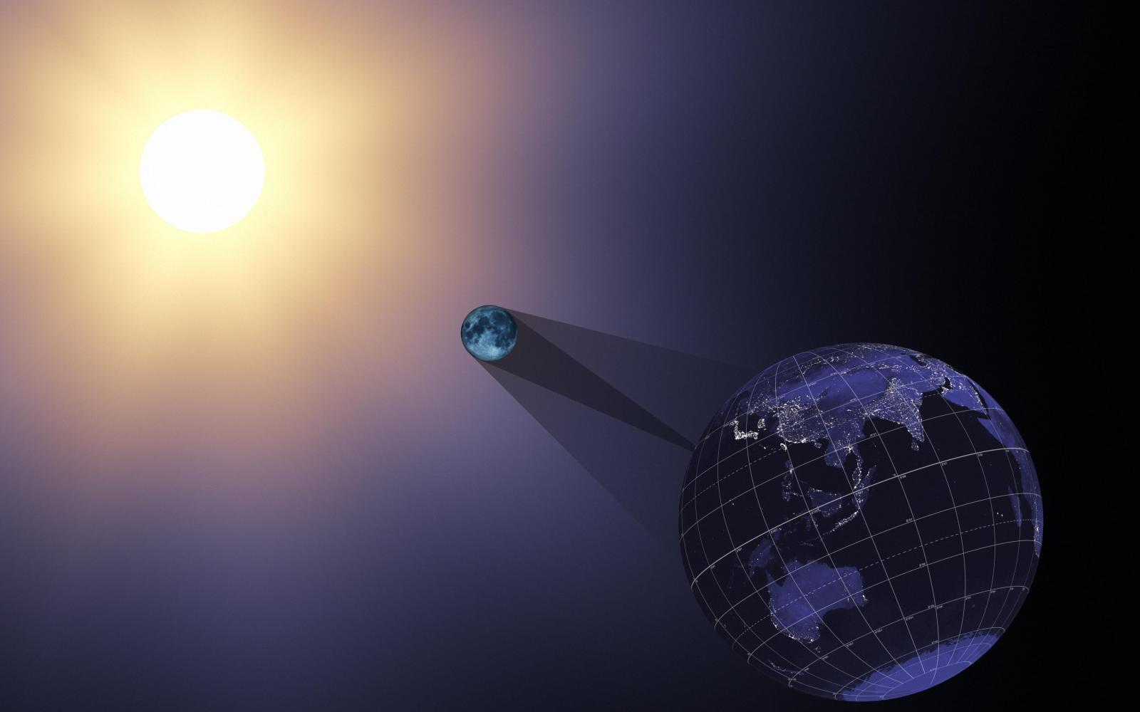 *** Що таке затемнення, які наслідки, що робити, місячні і сонячні, суть, прогнози і рекомендації, коридори total-solar-eclipse-Sun-Earth-eclipse ***