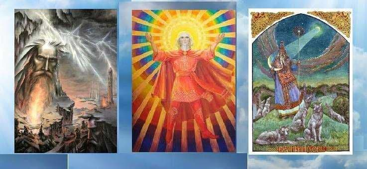 *** Ведична Трійця — Брахма Вішну Шива – Перун Дажбог Хорс | Vedic Trinity — Brahma Vishnu Shiva ***